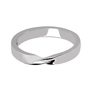 Shaped Wedding Band