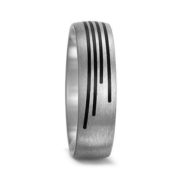 Titanium + Carbon Fibre Ring