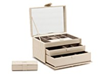 WOLF Caroline Cream Jewellery Box
